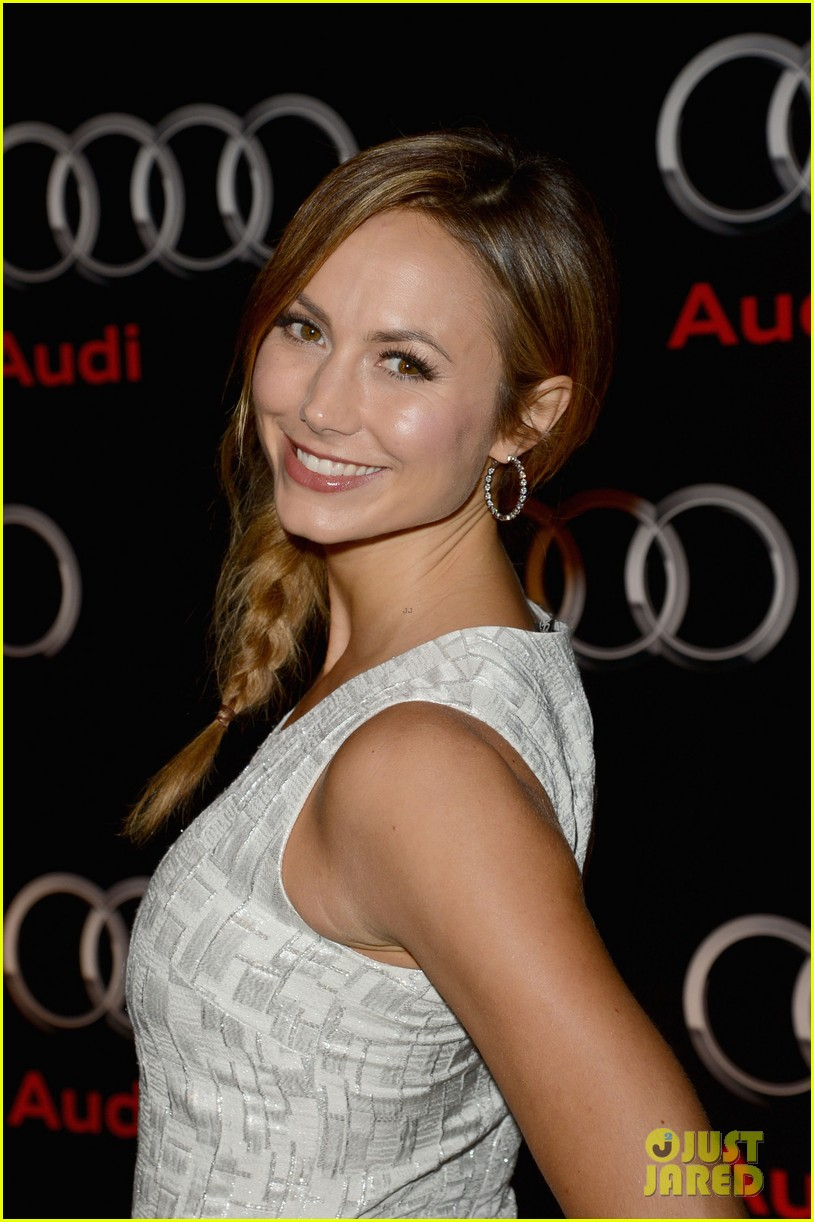 stacey keibler solange knowles audi super bowl party 12