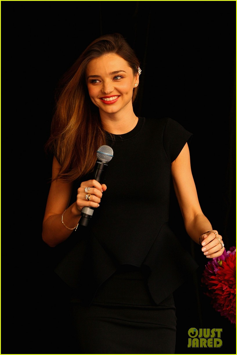 miranda kerr earcuff at david jones fashion workshop 06