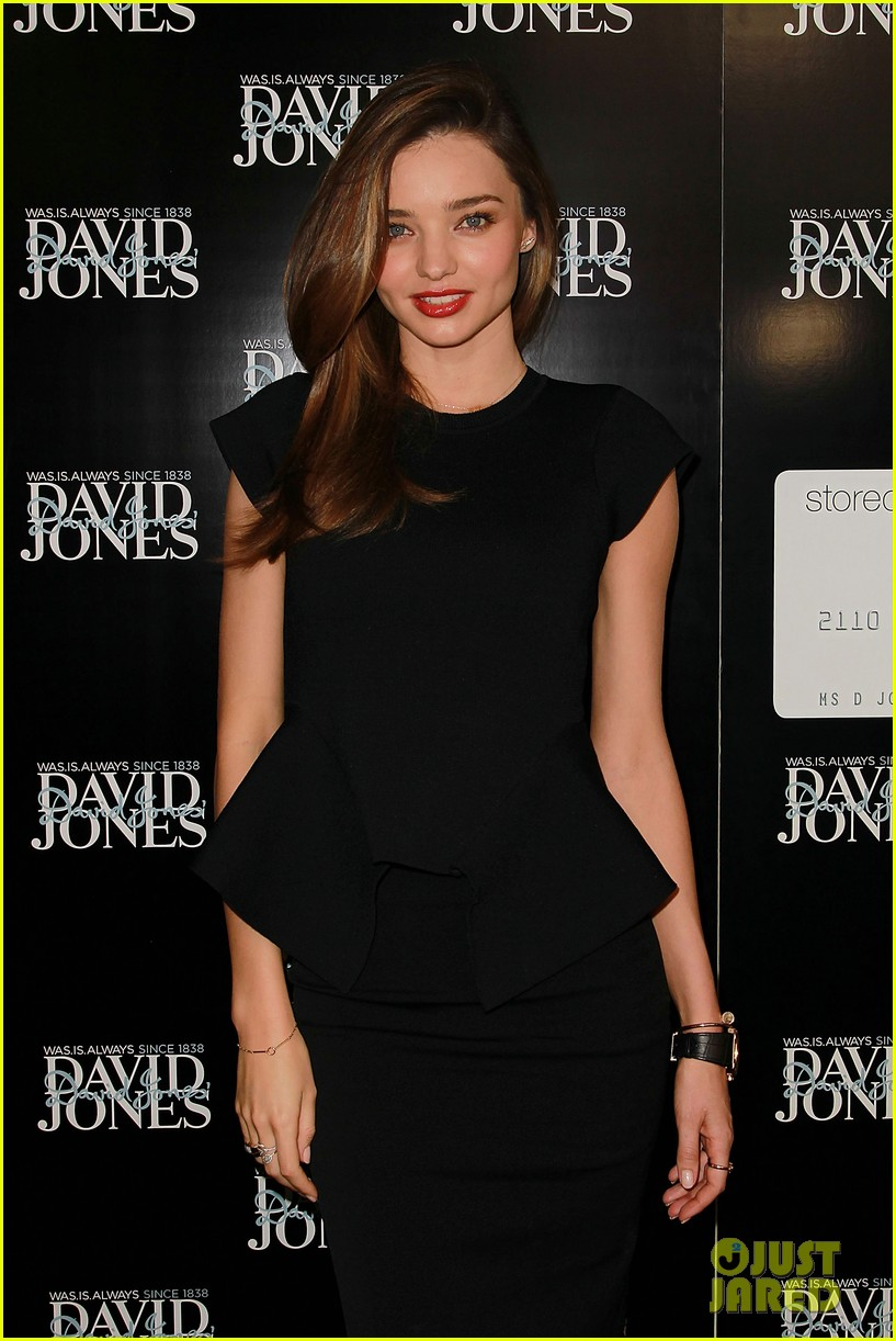 miranda kerr earcuff at david jones fashion workshop 132806987