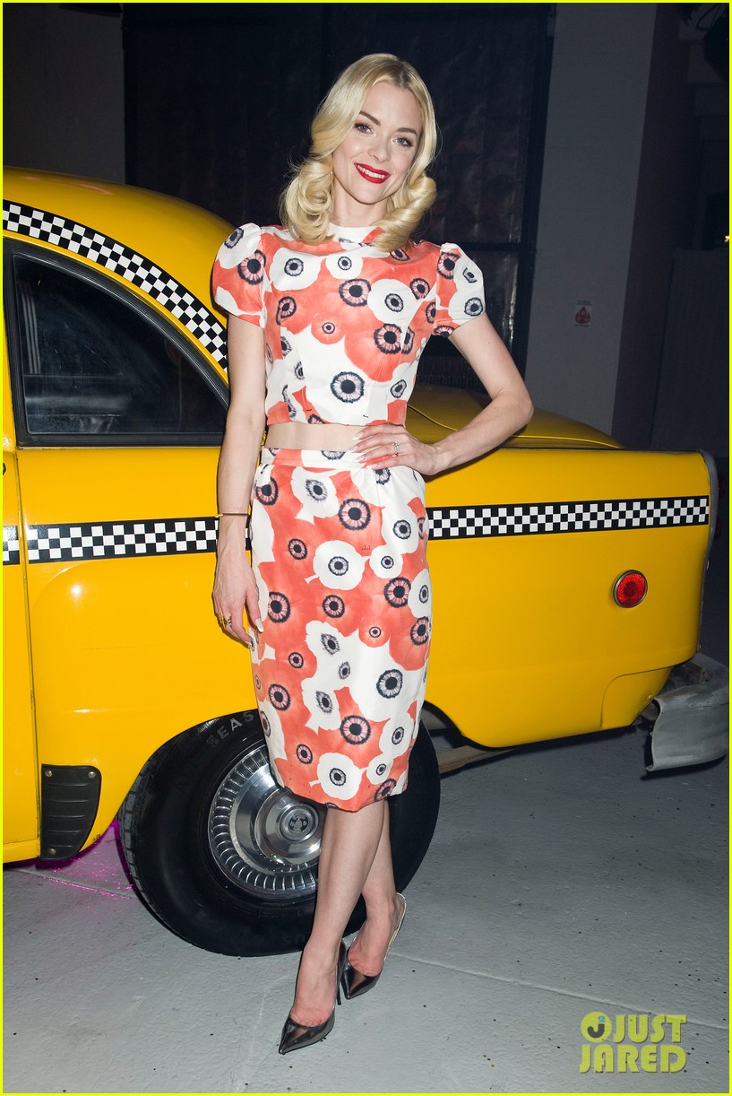 jaime king taxi cab cutie at kate spade celebration 01
