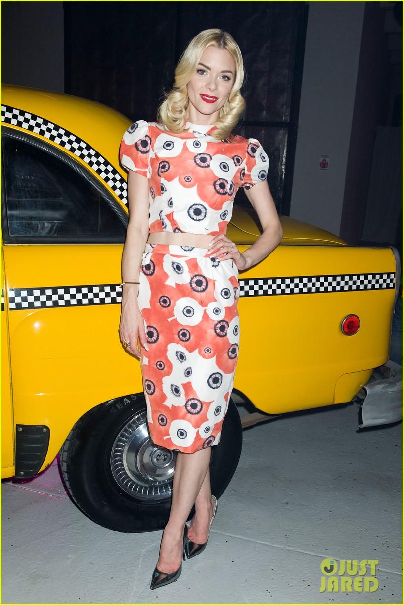 jaime king taxi cab cutie at kate spade celebration 15