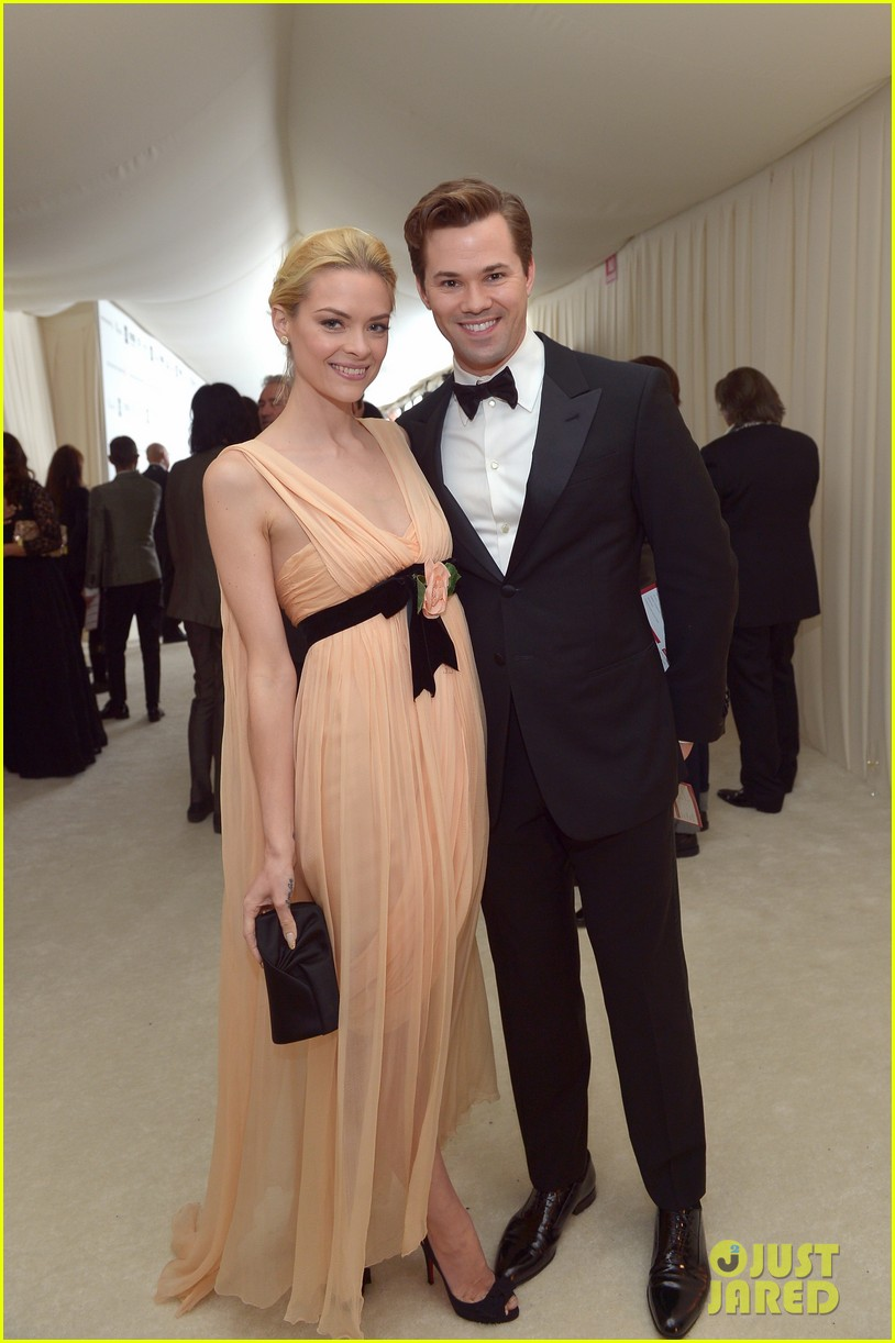 jaime king andrew rannels elton john oscars party 2013 05