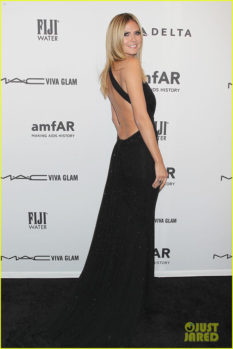 heidi klum anne v amfar new york gala 2013 12