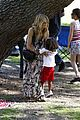 heidi klum martin kirsten beach day with the kids 46