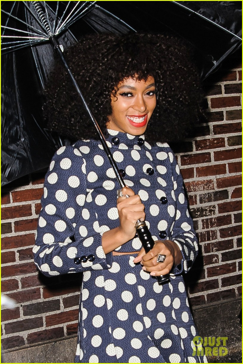 solange knowles dont let me down live on david letterman 05