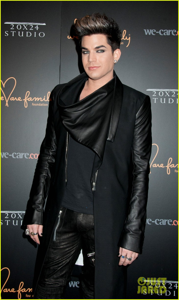 adam lambert we are family foundation gala 03