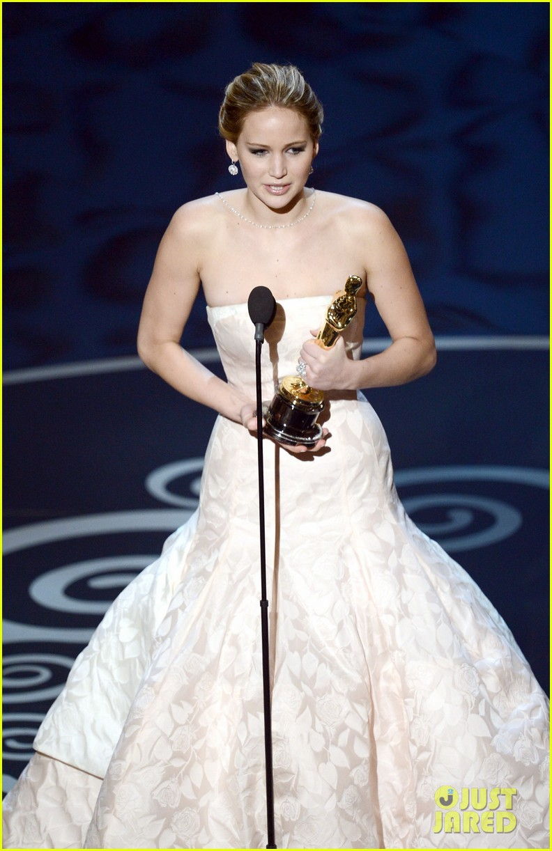 jennifer lawrence wins best actress falls on stage 062819858