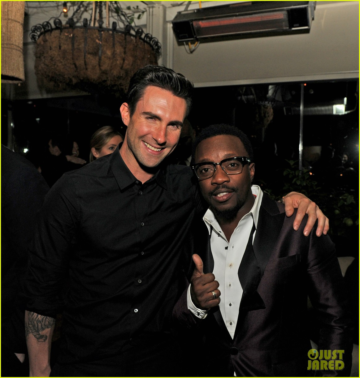 adam levine sting maroon 5 grammys after party 2013 10