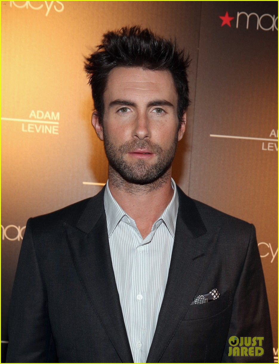 adam levine fragrance launch event 04