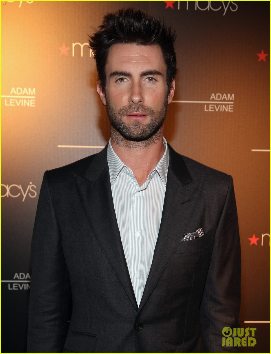 adam levine fragrance launch event 06