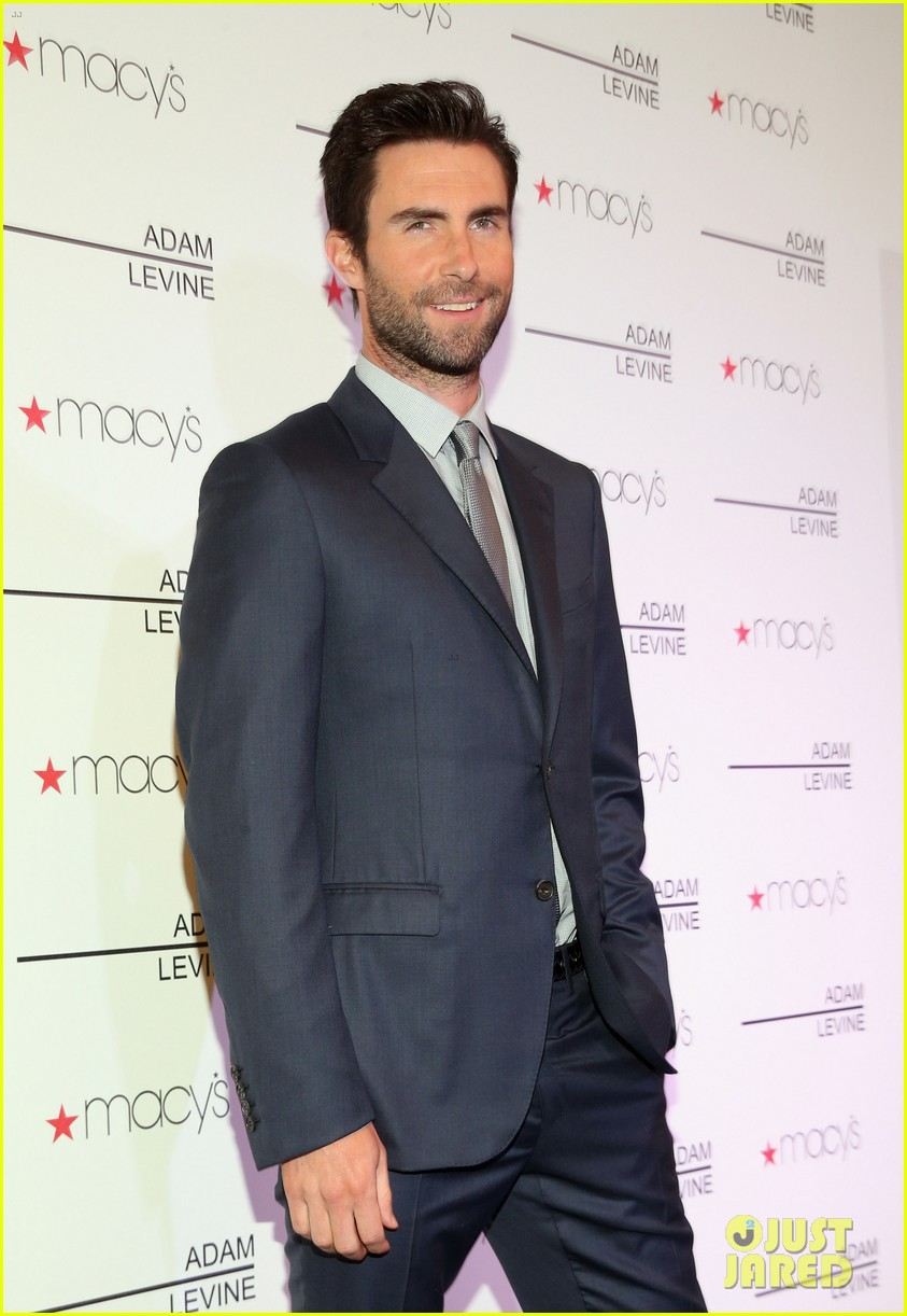 adam levine fragrance launch fan meet and greet 022806991