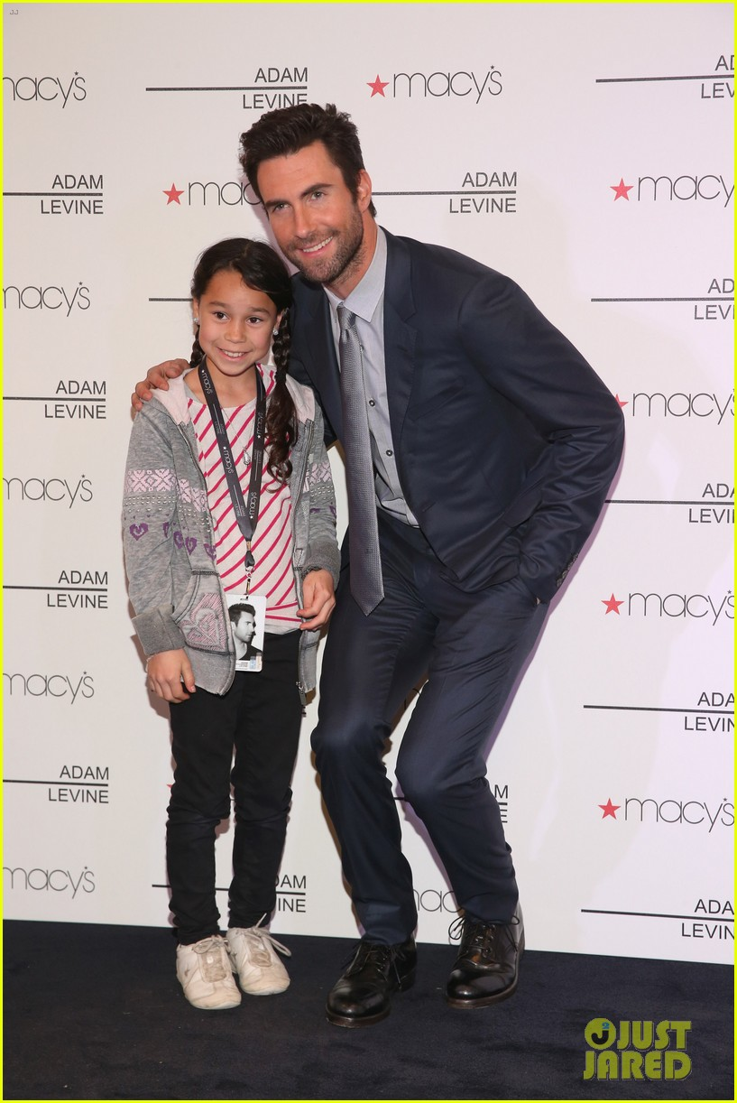 adam levine fragrance launch fan meet and greet 05