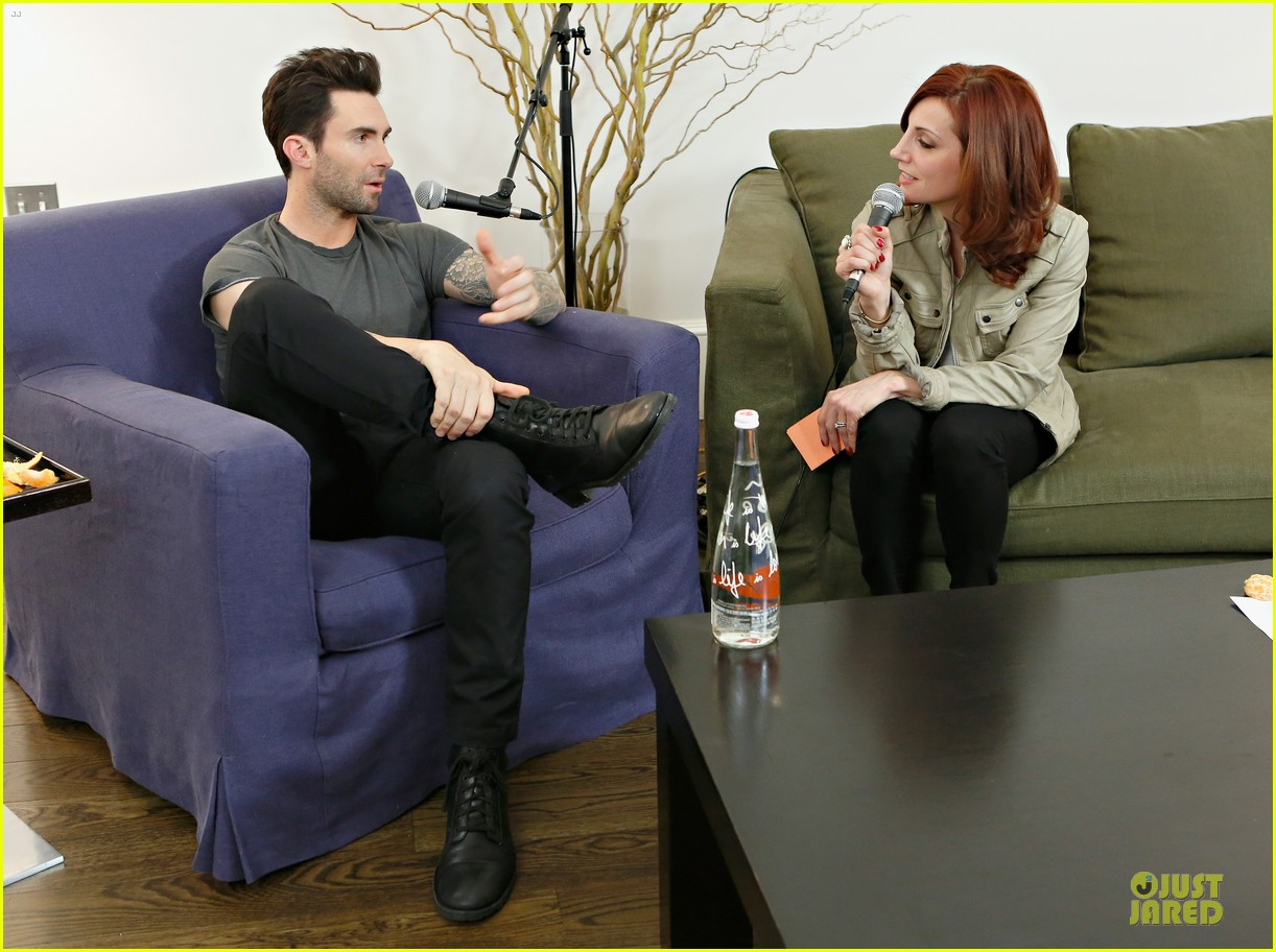 adam levine fragrance launch in new york city 092813207