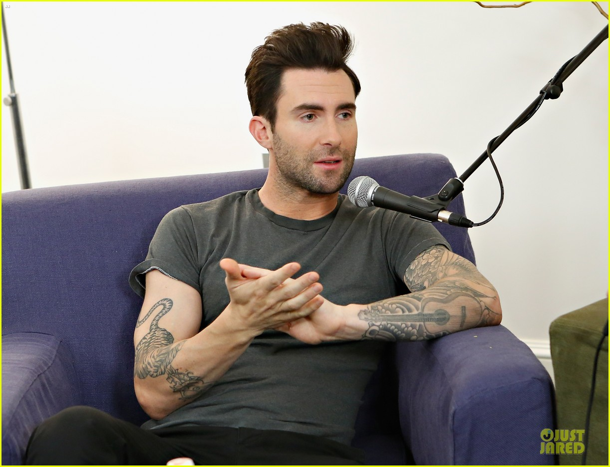 adam levine fragrance launch in new york city 10