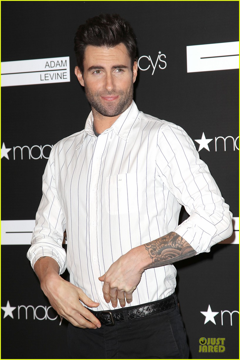 adam levine fragrance launch in new york city 26