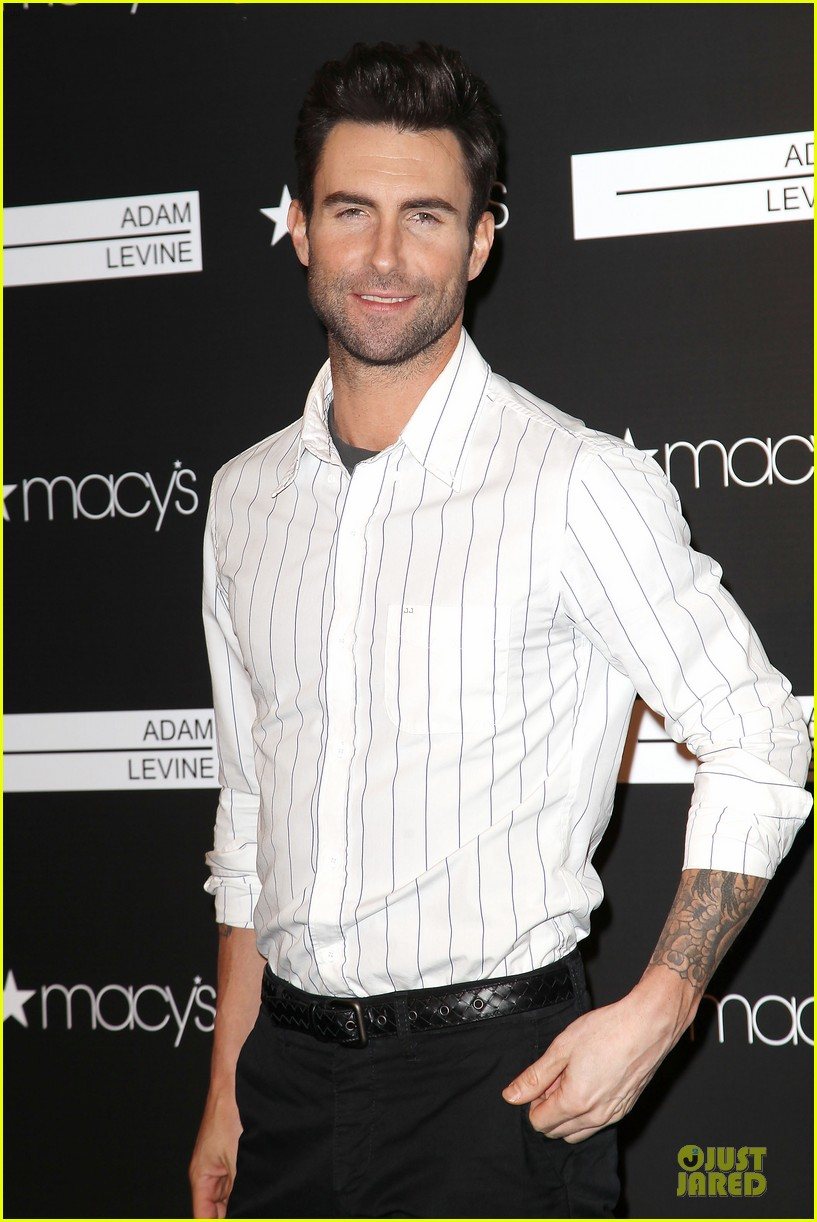 adam levine fragrance launch in new york city 282813226