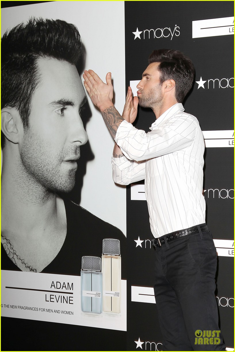 adam levine fragrance launch in new york city 33