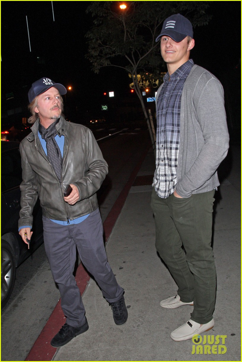 alexander ludwig boa steakhouse dinner with david spade 05