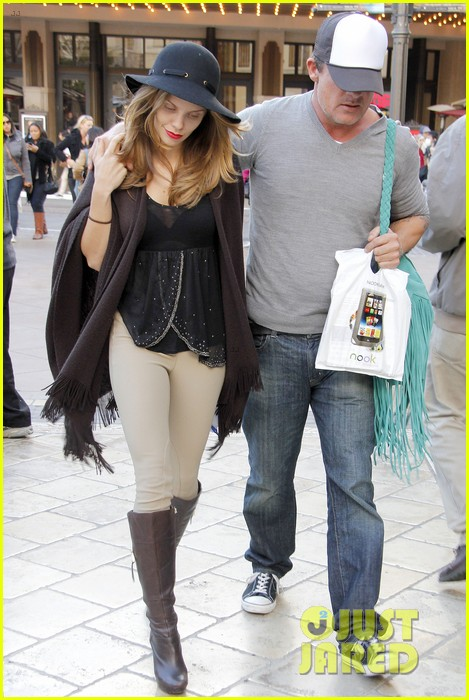 annalynne mccord dominic purcell the grove couple 072808724