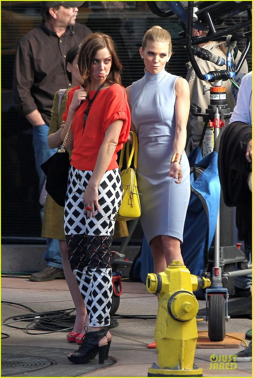 annalynne mccord new york glamour for 90210 06