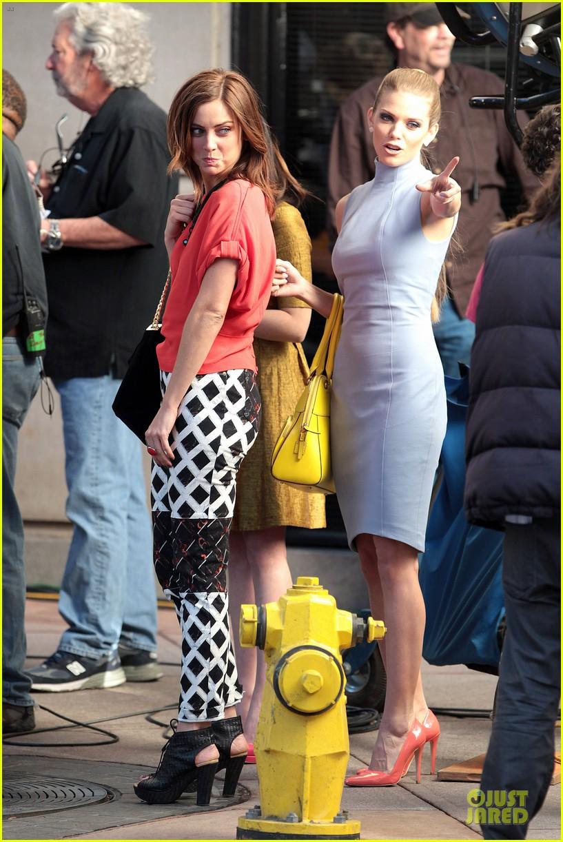 annalynne mccord new york glamour for 90210 16