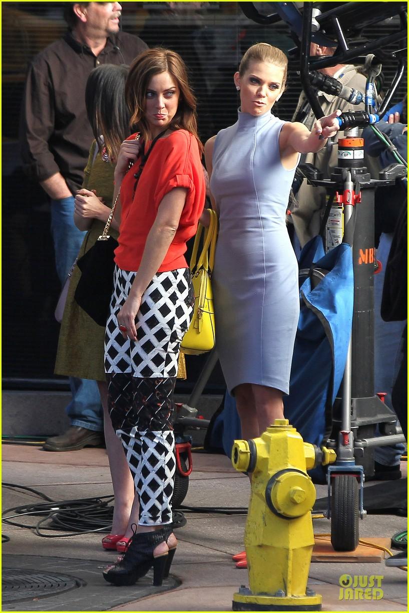 annalynne mccord new york glamour for 90210 21