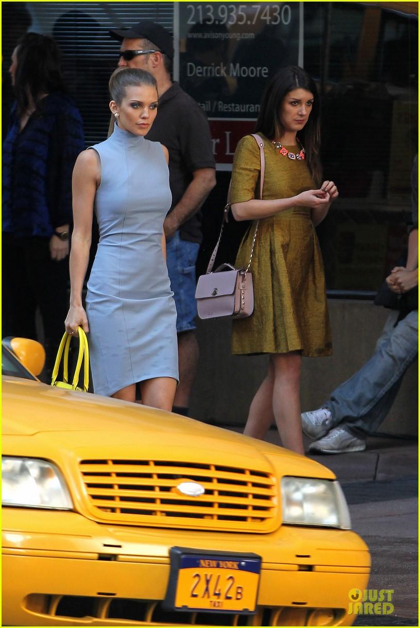 annalynne mccord new york glamour for 90210 22