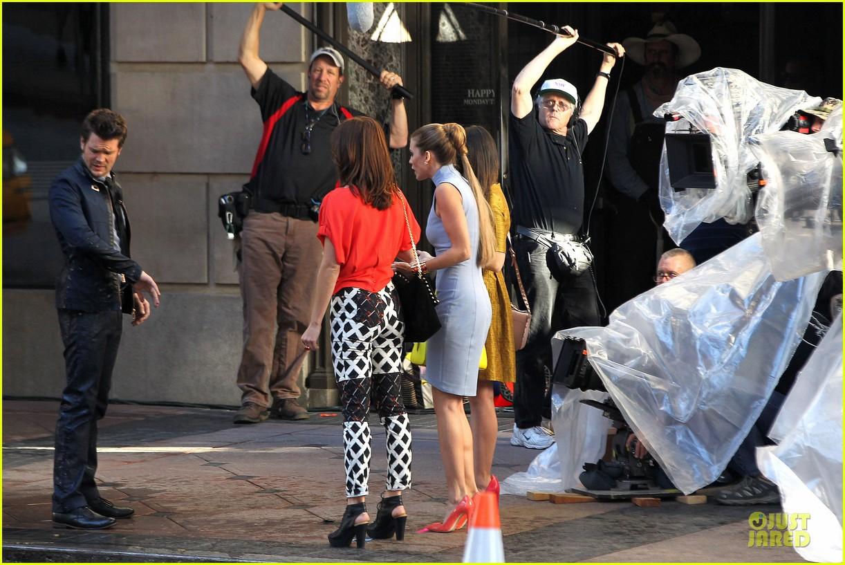 annalynne mccord new york glamour for 90210 27