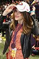 katharine mcphee 49ers pride at super bowl pre game show 03