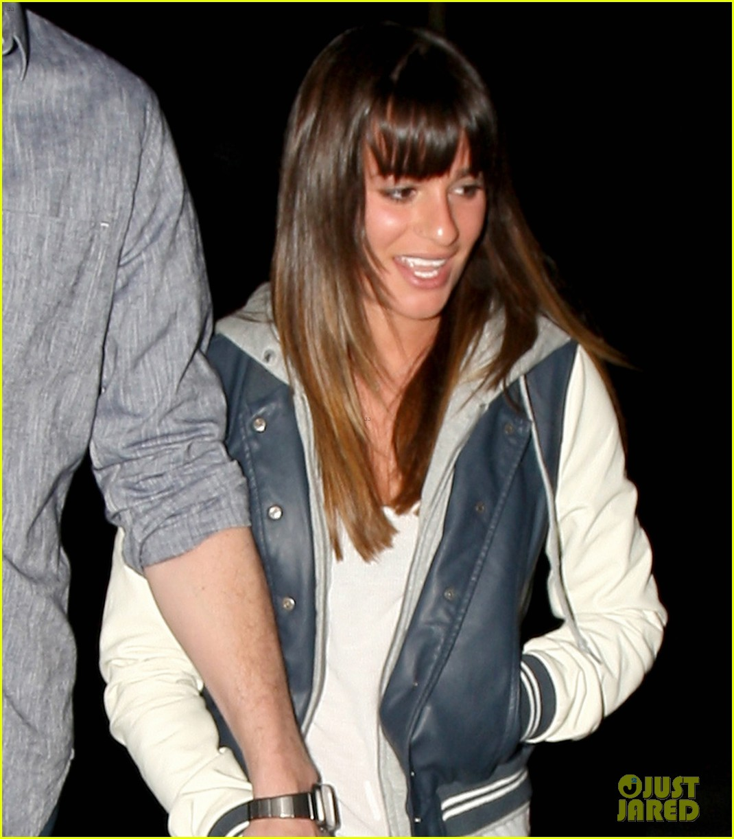 lea michele cory monteith arclight hollywood lovers 022804480