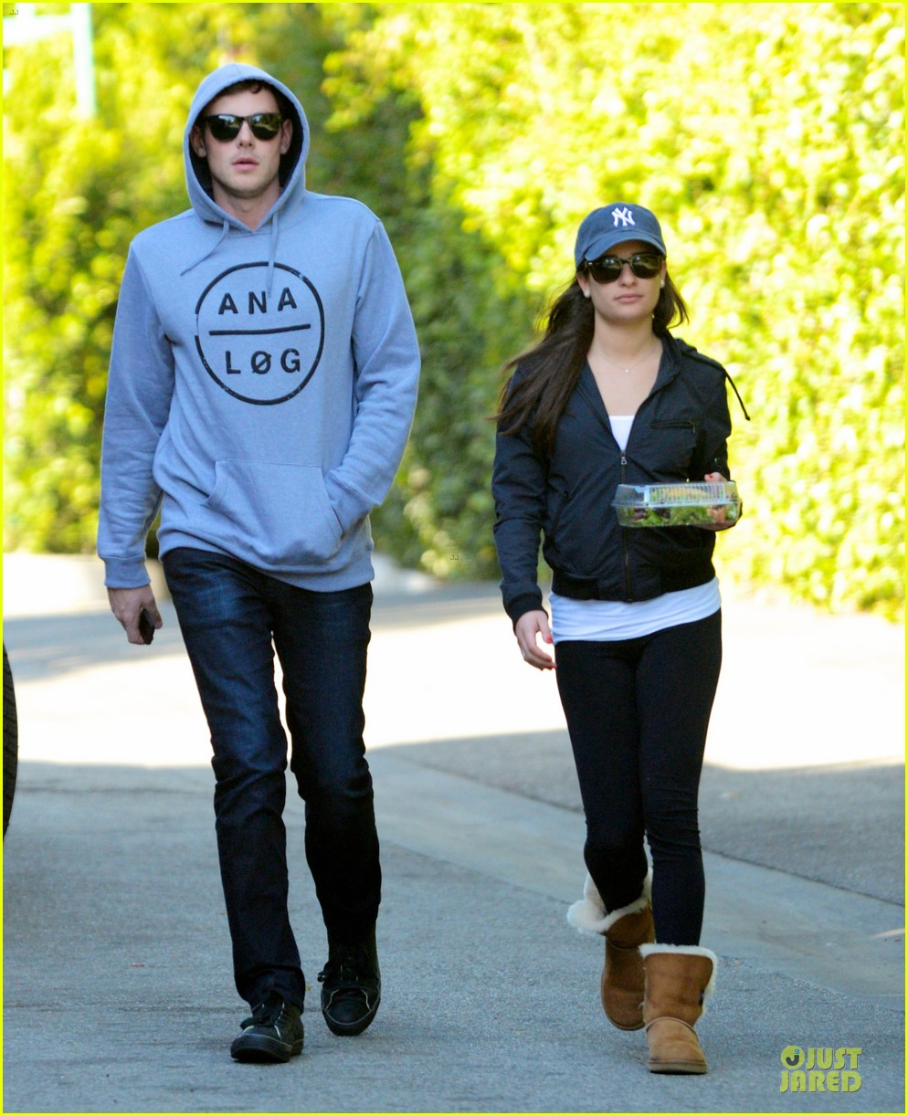 lea michele lea michele aroma cafe lunch 03