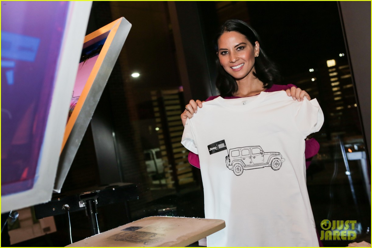 olivia munn jeep operation safe return launch event 022806500