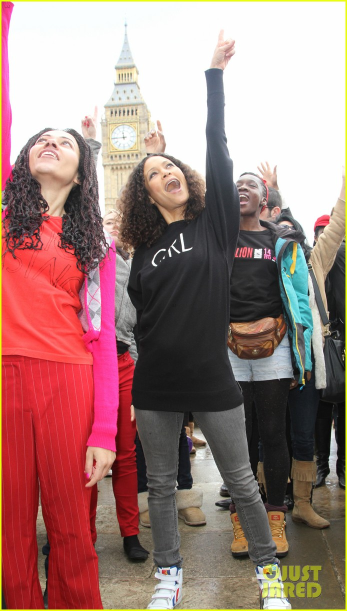 thandie newton one billion rising flashmob in london 01