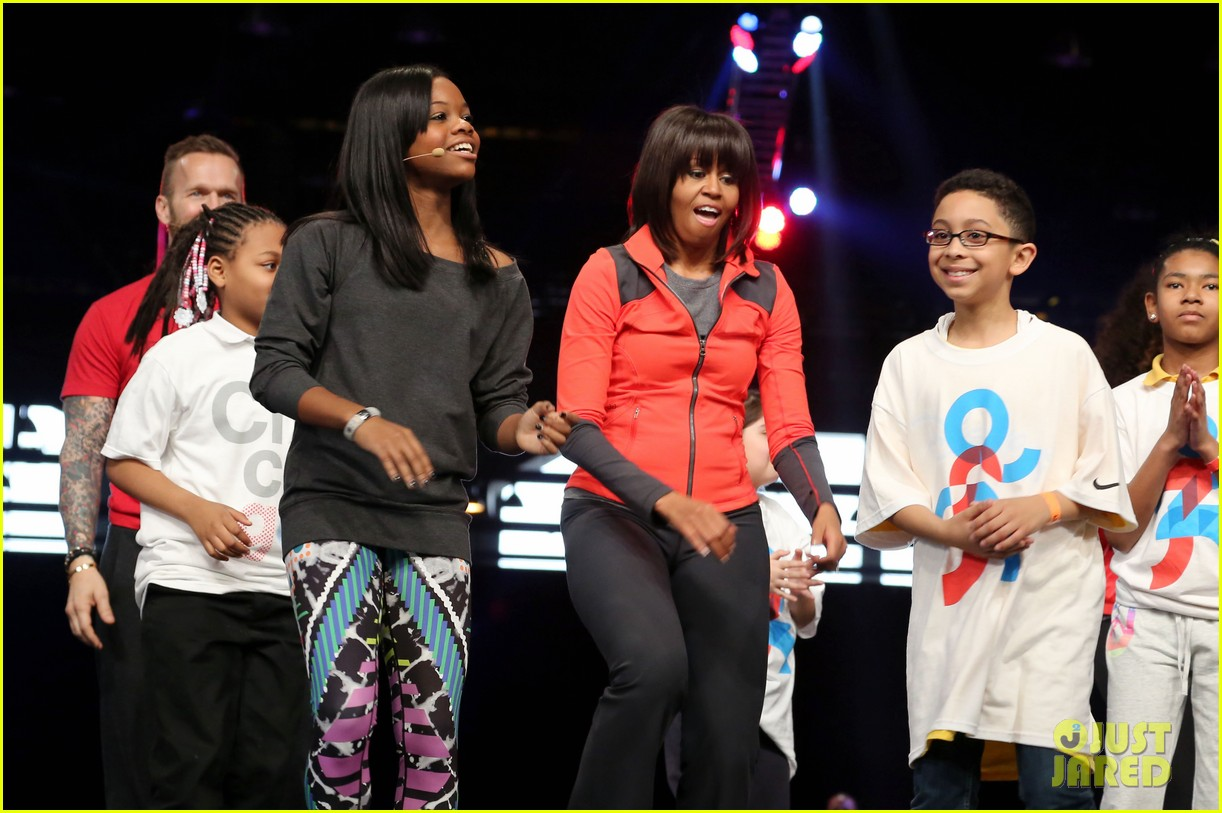 michelle obama school exercise program with jordin sparks 022822585