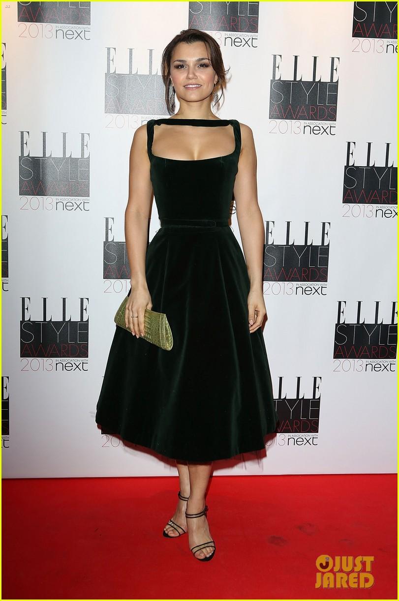 elizabeth olsen samantha barks elle style awards 2013 05