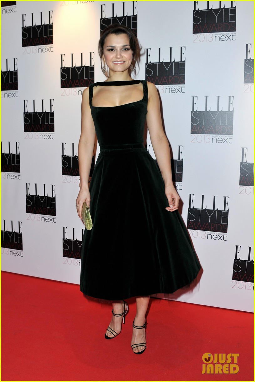 elizabeth olsen samantha barks elle style awards 2013 06