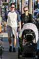 anna paquin shopping with one of her twins 11