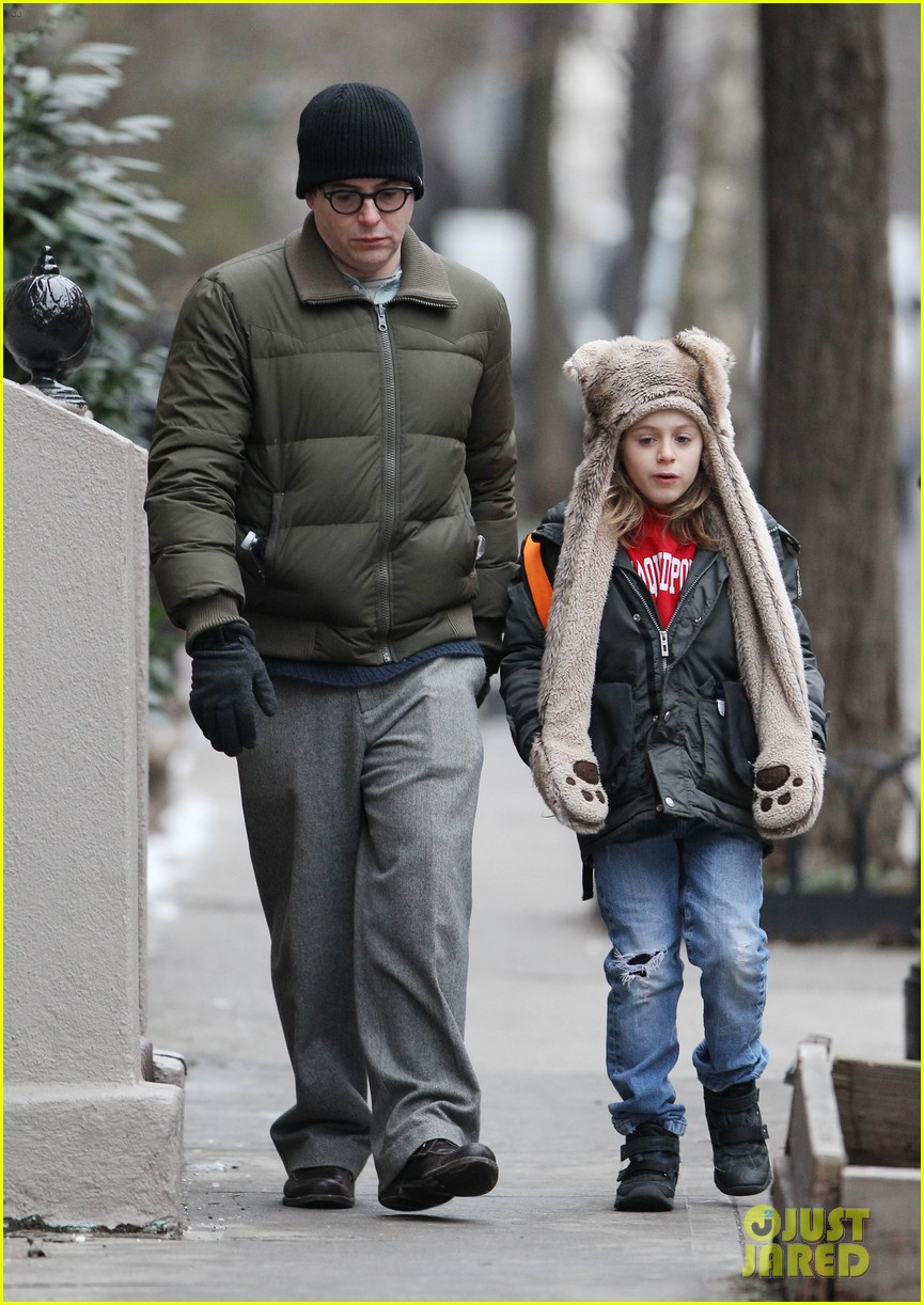 sarah jessica parker morning walk with the twins 32
