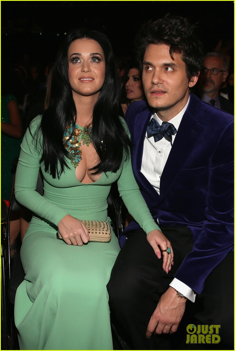 katy perry john mayer grammys 2013 seatmates pics 092809624