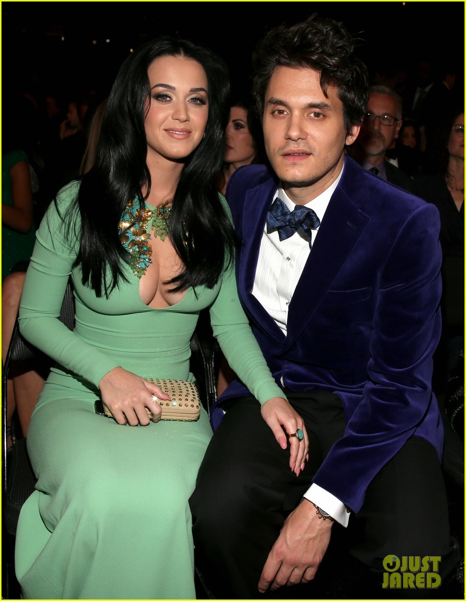katy perry john mayer grammys 2013 seatmates pics 102809625