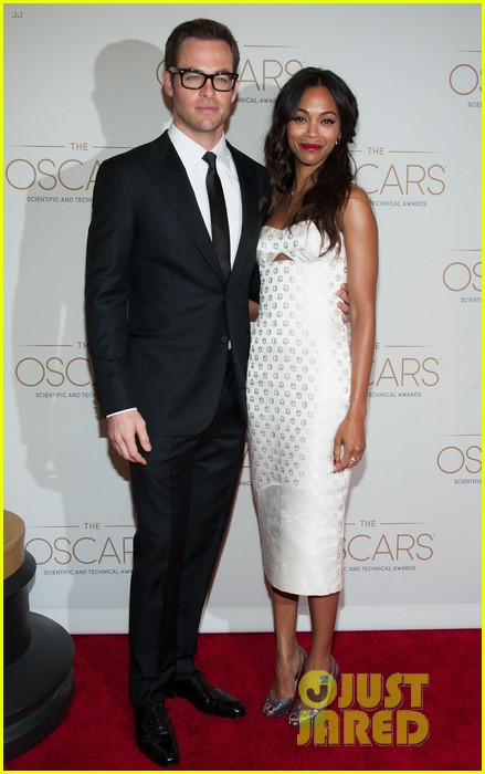 chris pine zoe saldana academy tech awards 2013 01