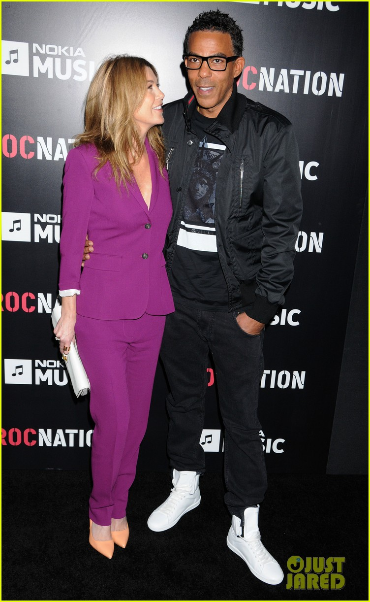 ellen pompeo chris ivery rocnation pre grammy brunch 2013 072808277