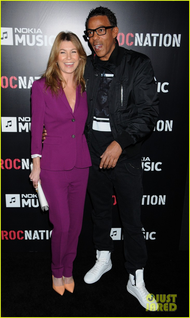 ellen pompeo chris ivery rocnation pre grammy brunch 2013 08