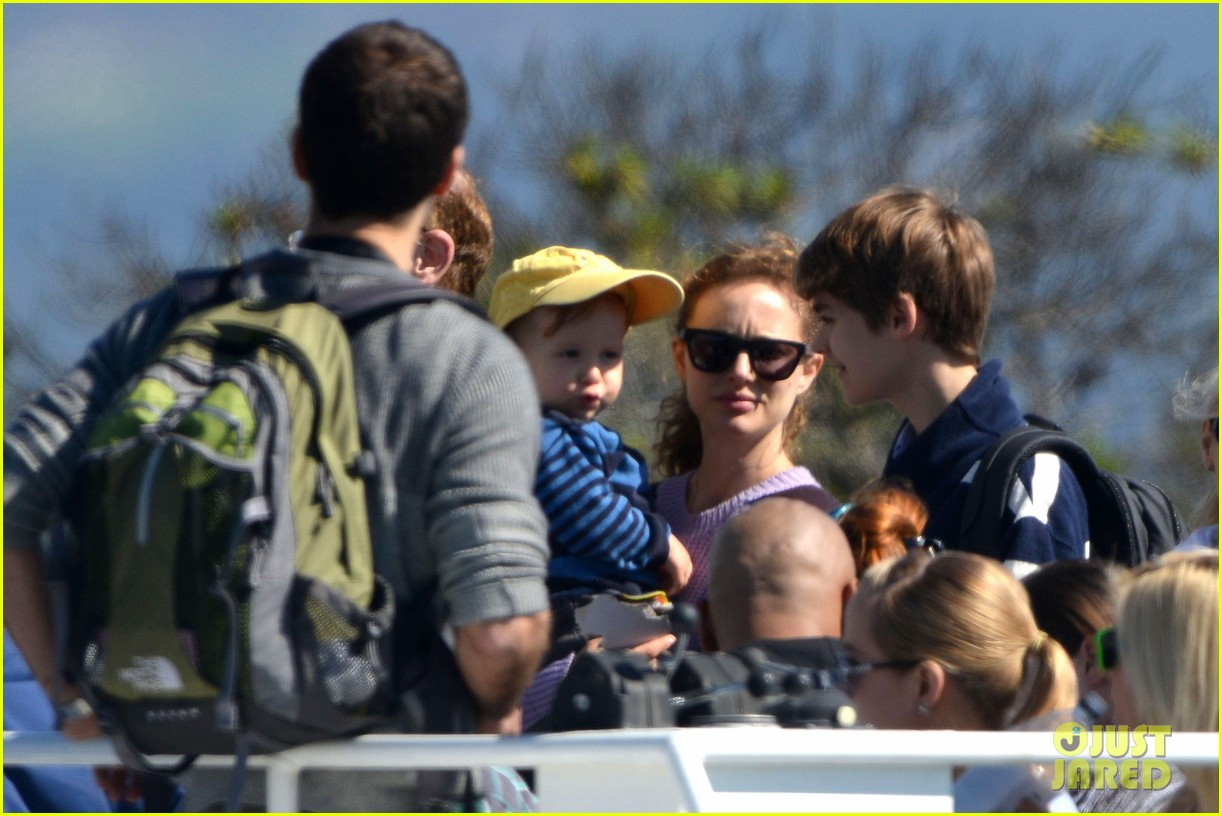 natalie portman benjamin millepied whale watching with aleph 222814318