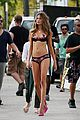 behati prinsloo candice swanepoel bikini photo shoot with michael bay 01