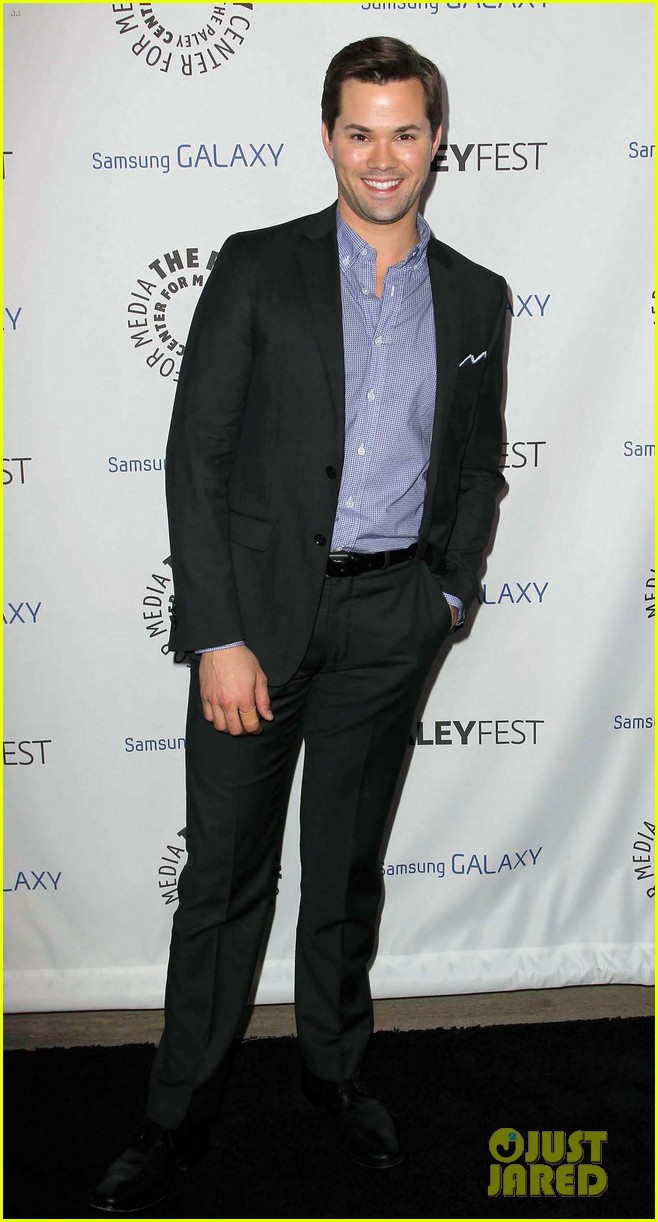 andrew rannells georgia king inaugural paleyfest icon award 17