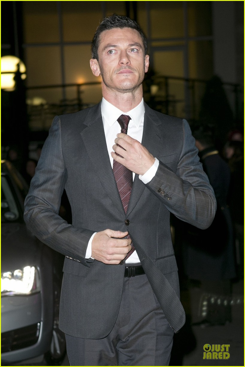 eddie redmayne luke evans british film awards 2013 07
