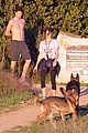 nikki reed super bowl hiking with shirtless brother nathan 09