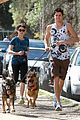nikki reed dog run with brother nathan 03