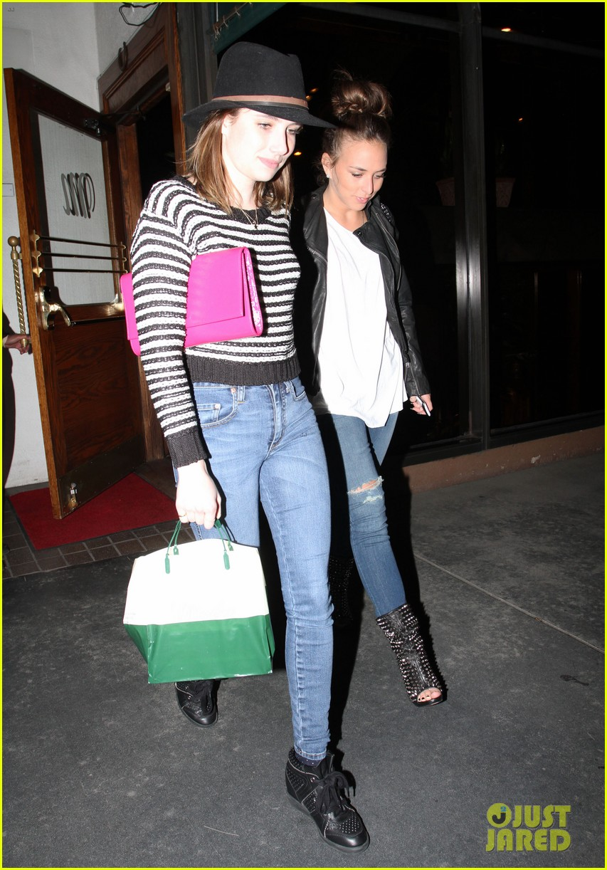 emma roberts ashley madekwe topshop topman la opening party 05